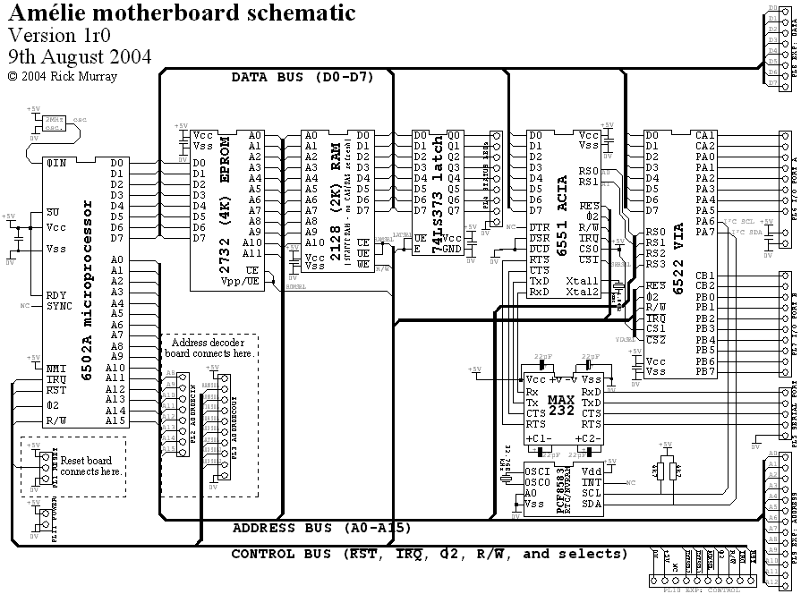 the am u00e9lie project  downloads  schematics