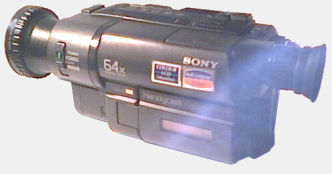 My Sony HandyCam, a standard 8mm model.