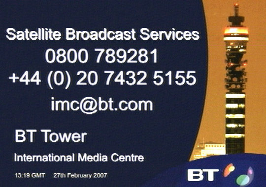 BT Tower.